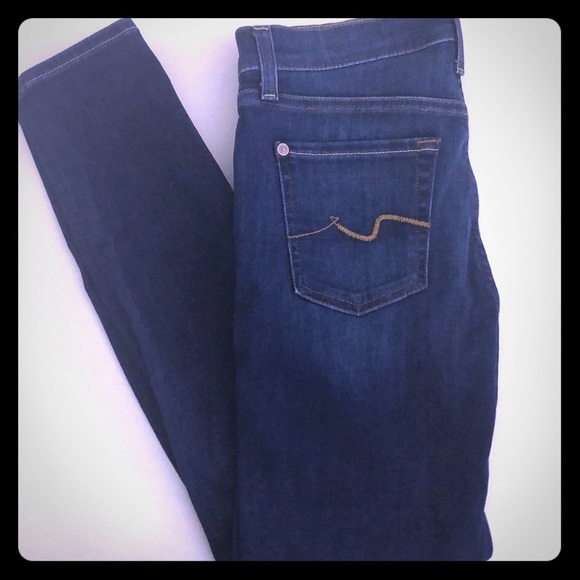 7 For All Mankind Denim - NWOT 7 For All Mankind Gwenevere Ankle jeans